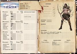 Character Sheet (beta sample)