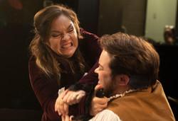 Kristin Sgarro as Romeo and Owen Grayson Schiller as Paris (Romeo & Juliet)