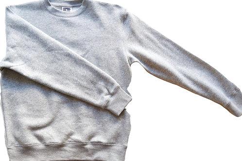 College Sweater - Unisex -Light Grey