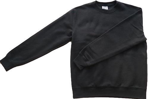 College Sweater - Unisex - Black