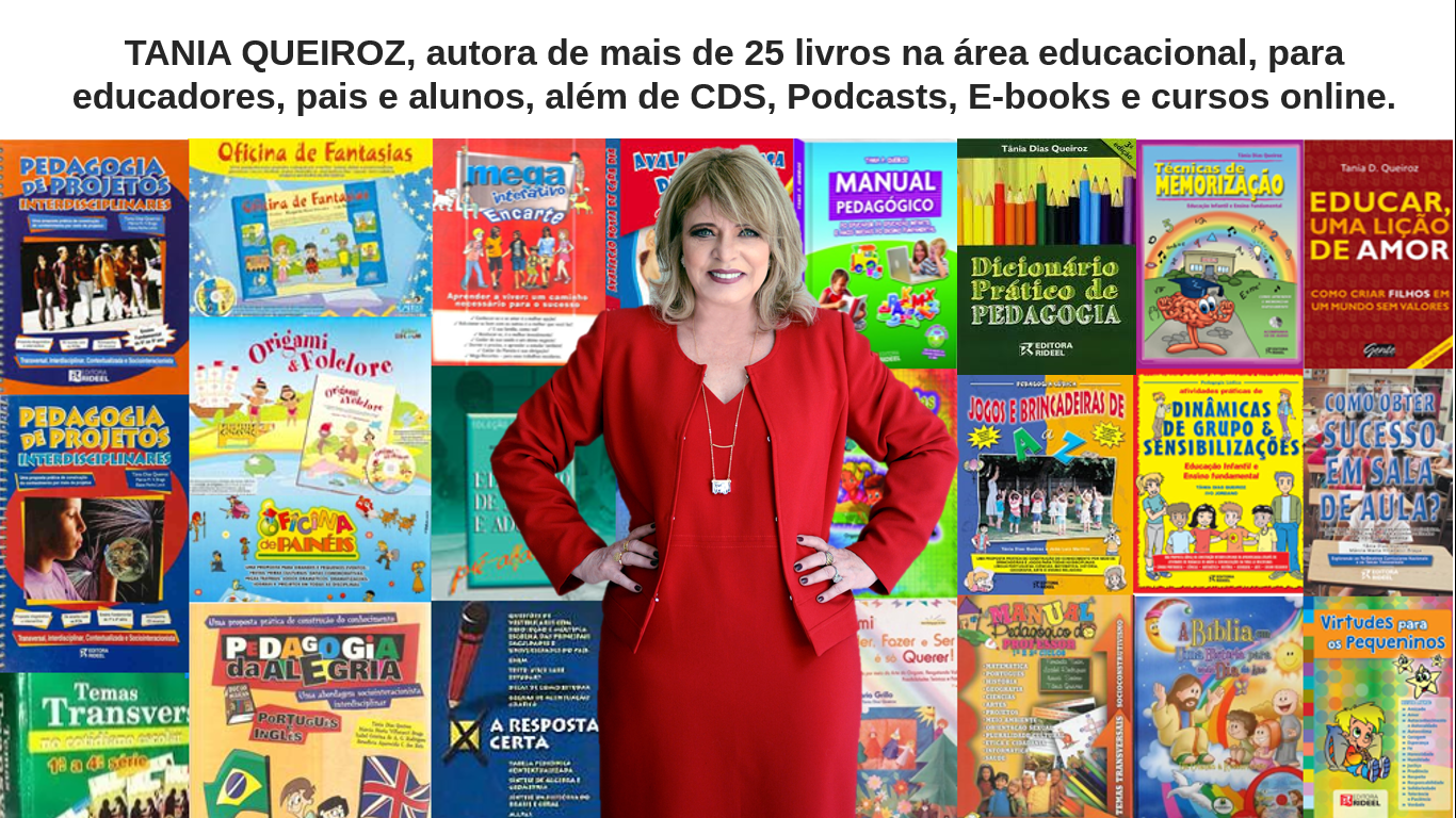 Tania é autora de mais de 30 livros