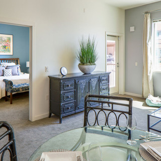 Model Unit Living and Dining