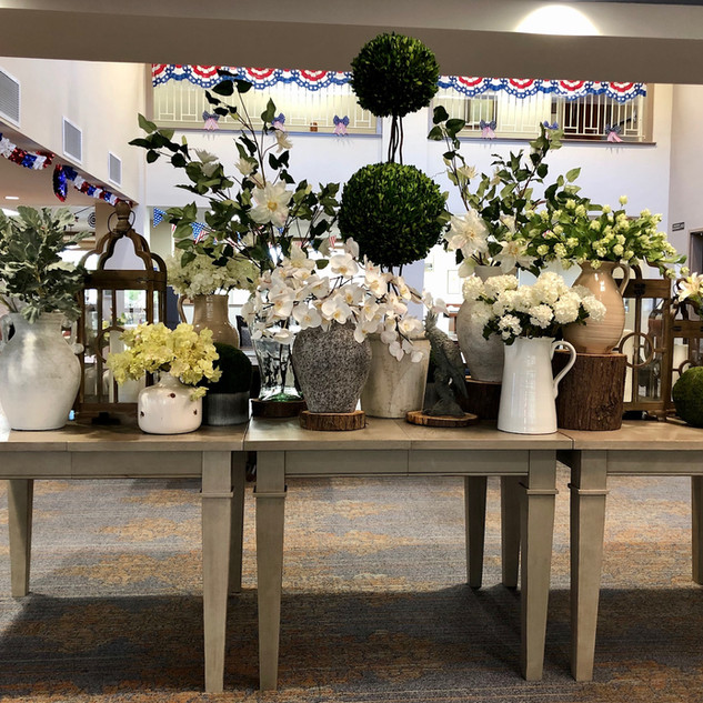 Summer Floral Display