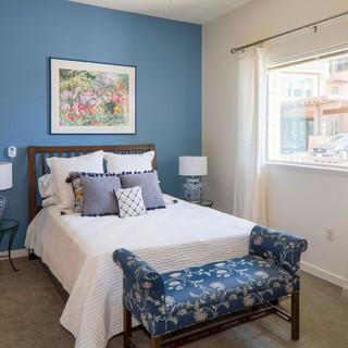 Model Unit Blue Bedroom