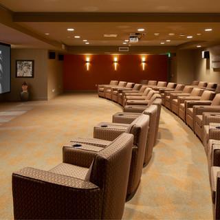 Contemporary Movie Theater