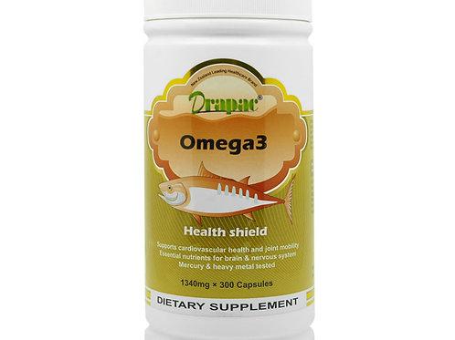 Drapac Omega-3 Fish Oil Premium 300 Capsules