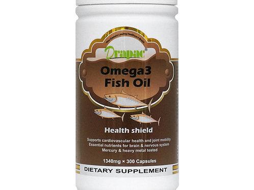 Drapac Omega-3 Fish Oil Top 300 Capsules