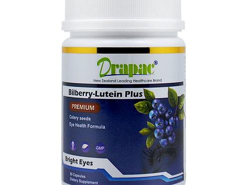 Drapac Bilberry-Lutein Plus 80 Capsules