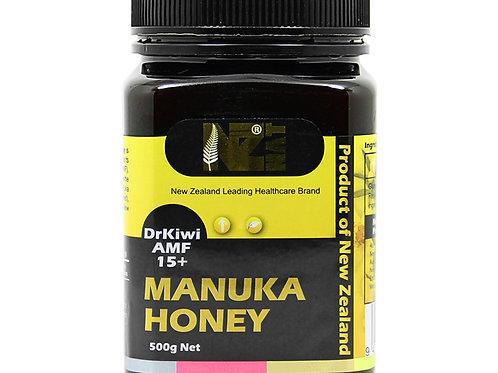 NZNAT Manuka Honey 15+ 500g
