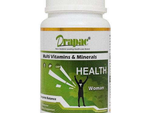 Drapac Muti & Minerals For Women