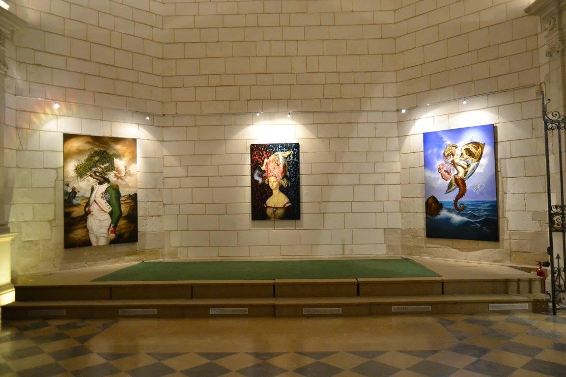 Immersion ; Abbaye de Vinetz. Châlons-en-Champagne, France. 2018.