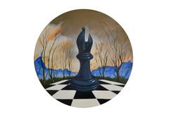 Série de pièces d'échecs VI.