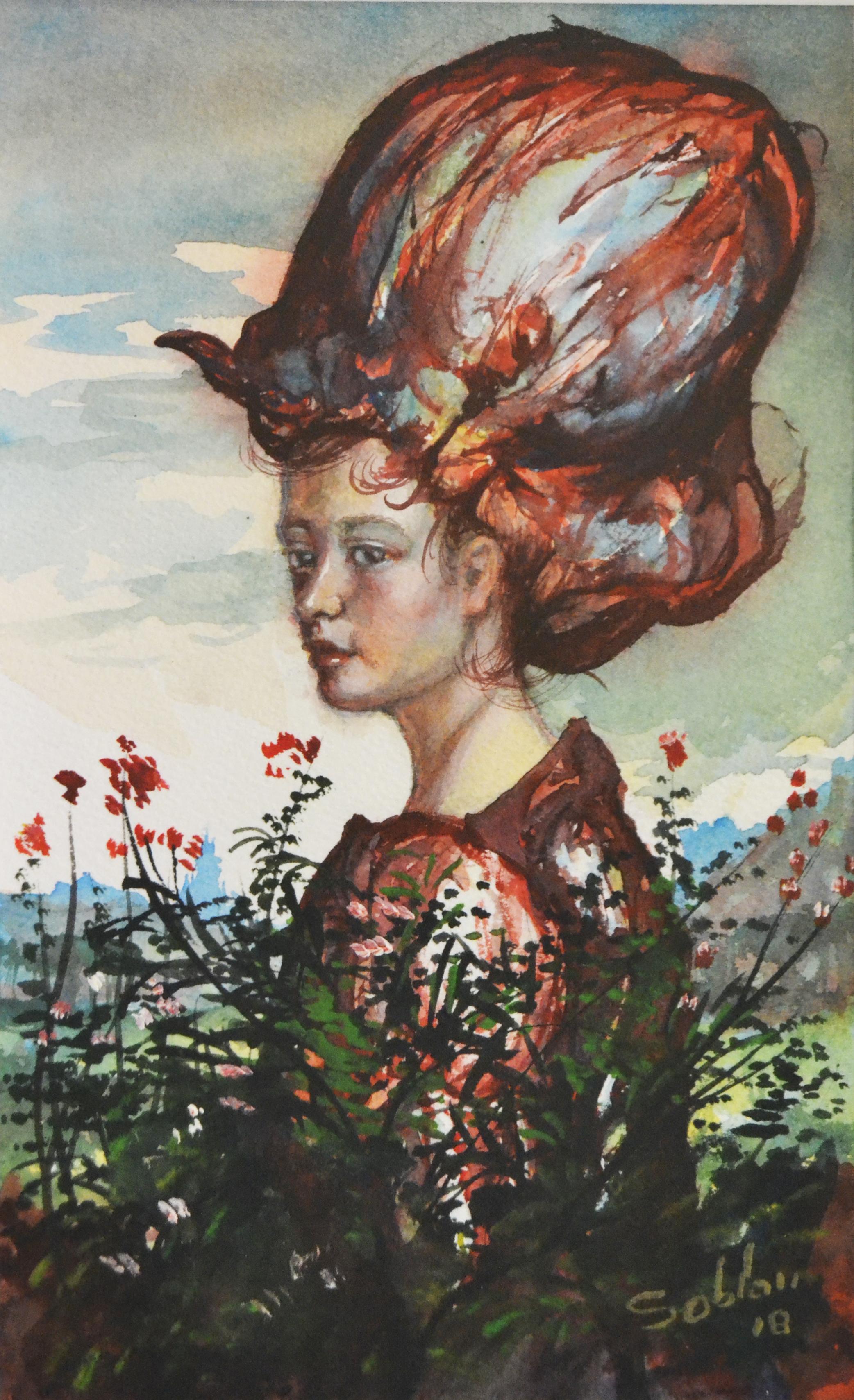 femme au chapeau XIV