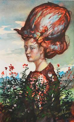 Femme au chapeau XVI