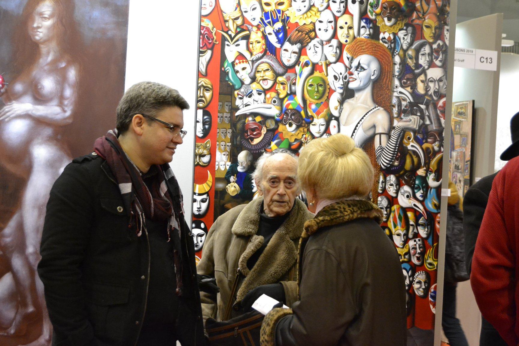 Avec Jean-Pierre Alaux.