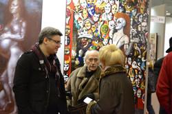 Avec Jean Pierre Alaux et Monique  JOURNOD.