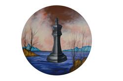 Série de pièces d'échecs II.