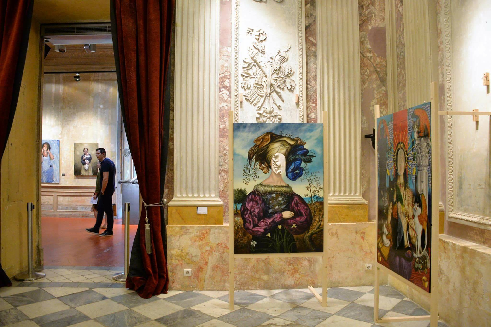 Nuit européenne des musées, Museo Europeo de Arte Moderno (MEAM) Barcelone, Espagne 2017.