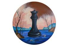 Série de pièces d'échecs I.