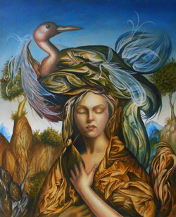 Femme au chapeau III