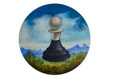 Série de pièces d'échecs IV.