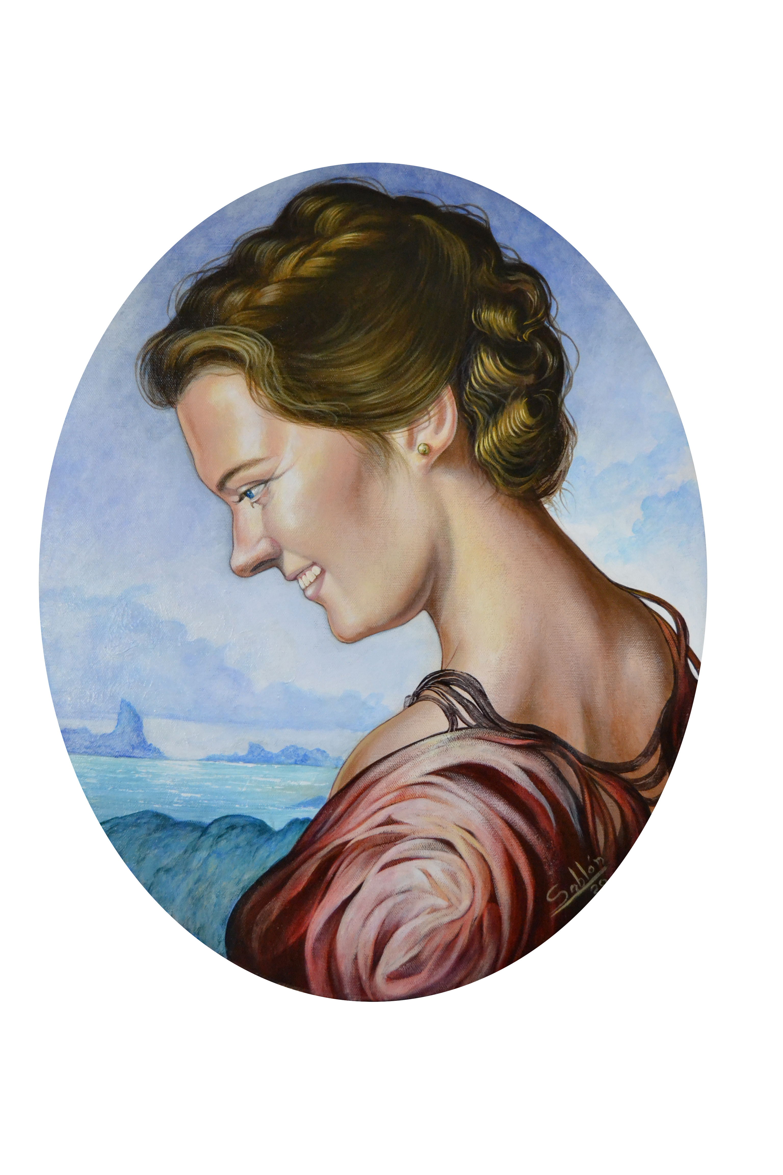La jeune femme et la mer.
