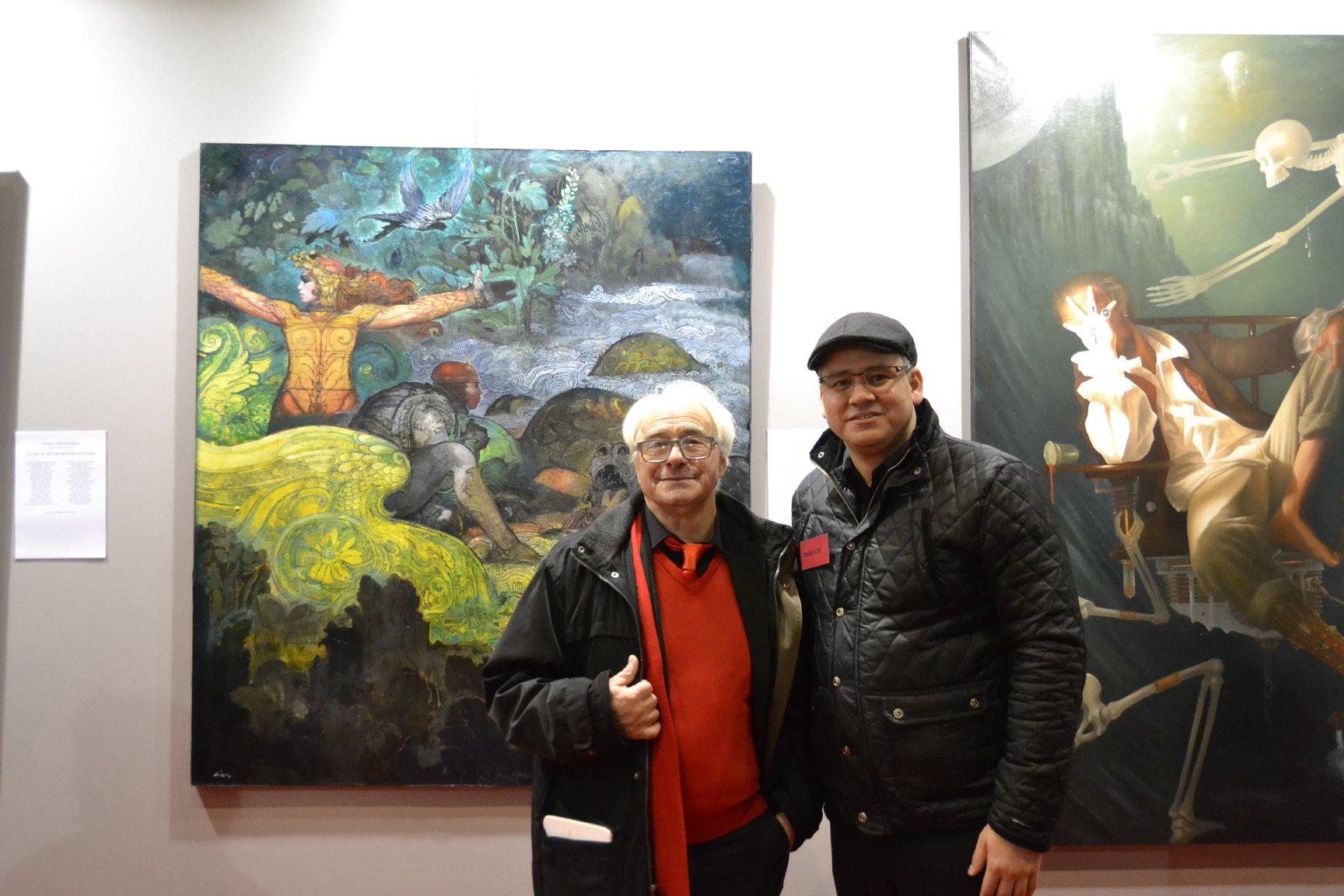 Avec  Raffaele De Rosa et le Groupe Libellule
