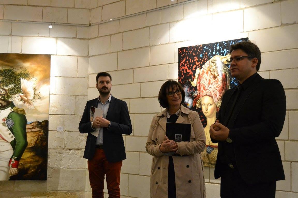 Avec Martine Lizola et Florian Corbier