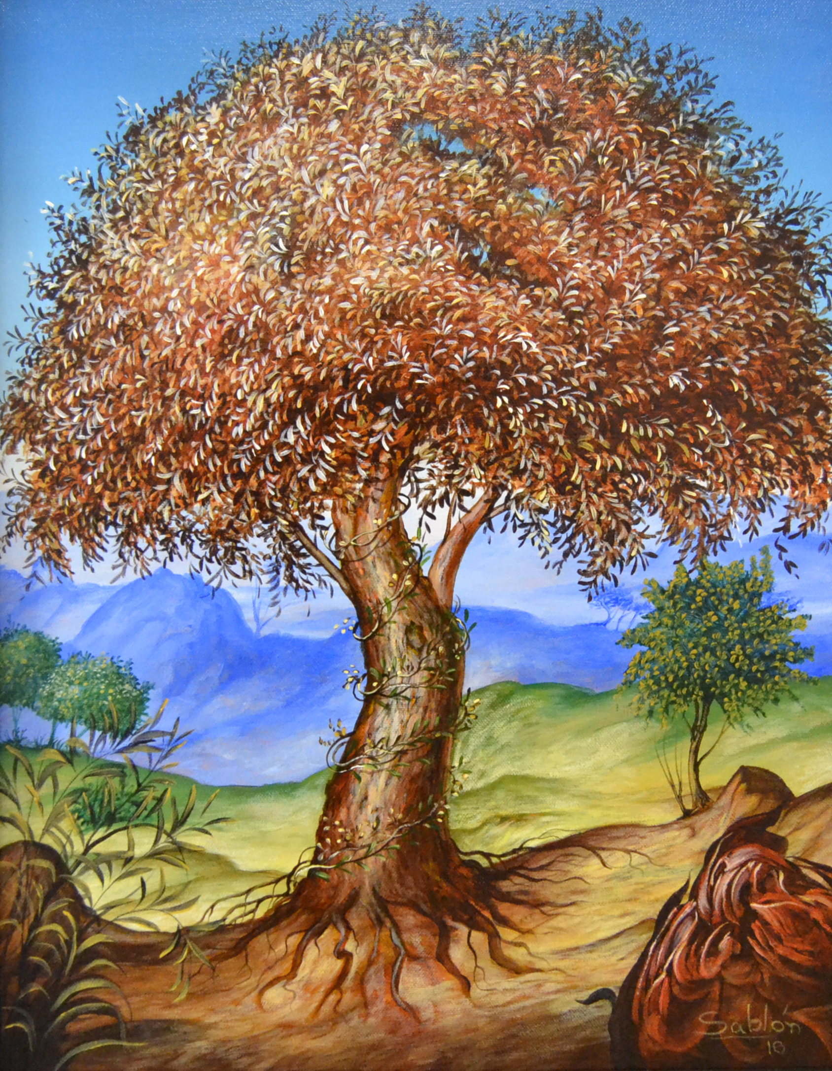 l'arbre et la vie.