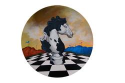 Série de pièces d'échecs III.