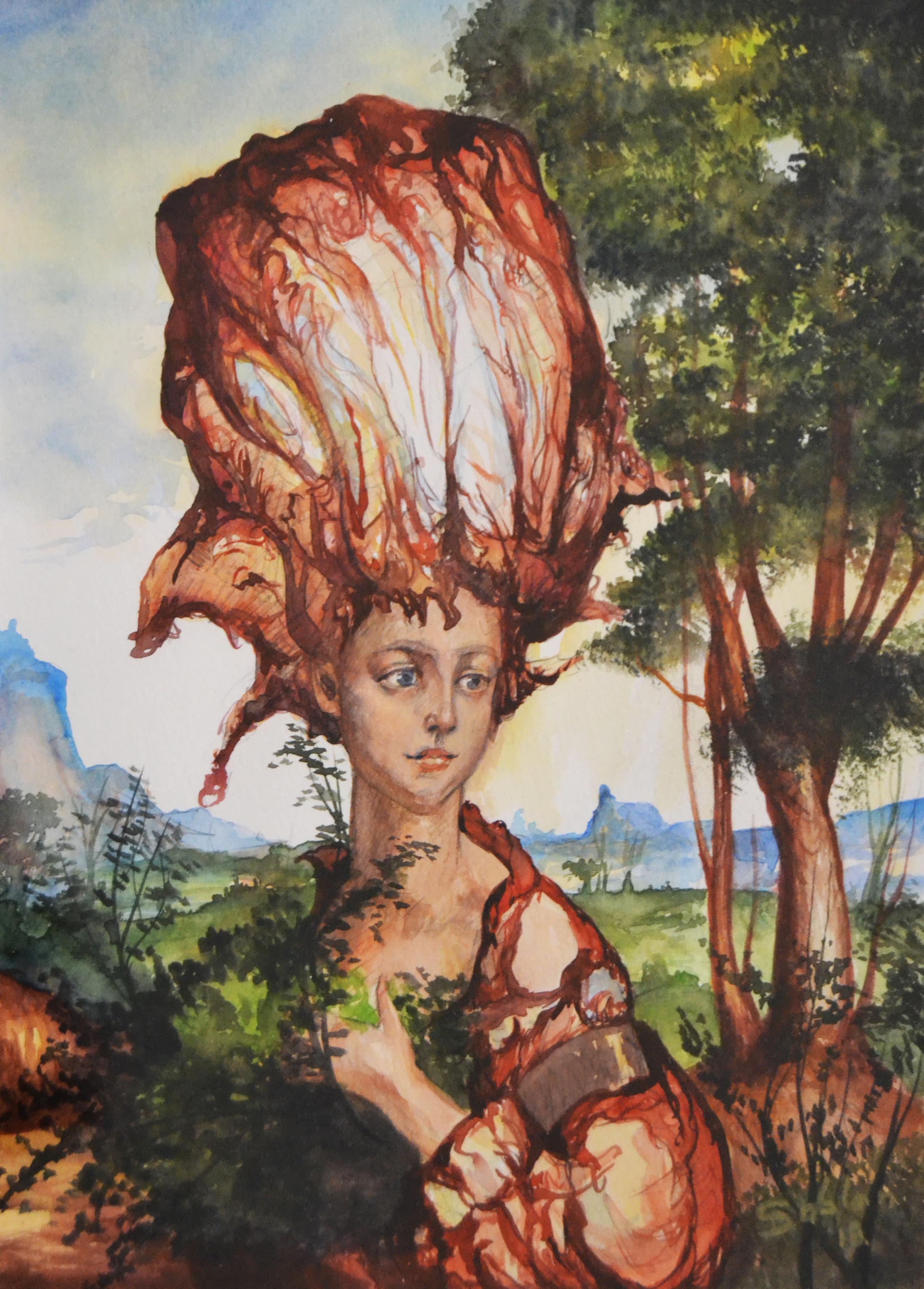 femme au chapeau XIII