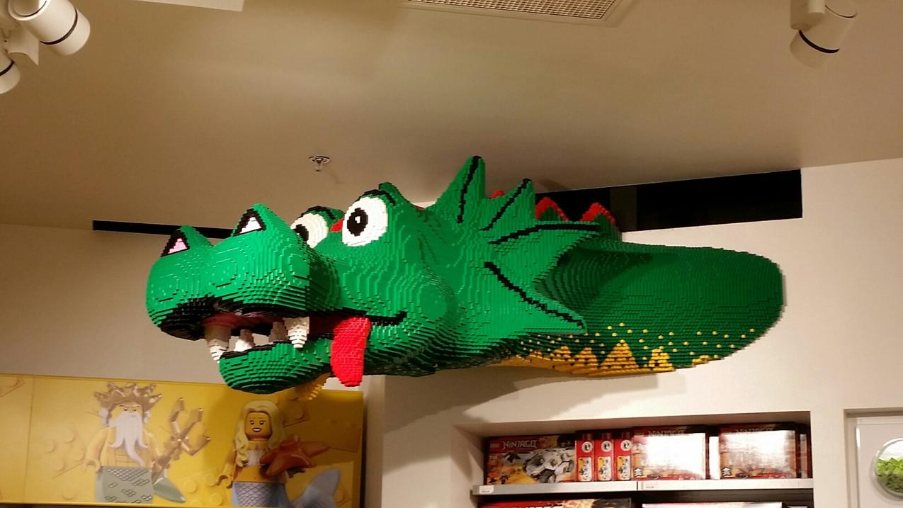Dragon en Lego