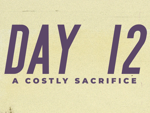 Day 12: A Costly Sacrifice