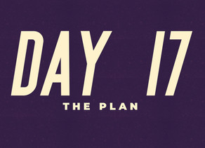 Day 17: The Plan