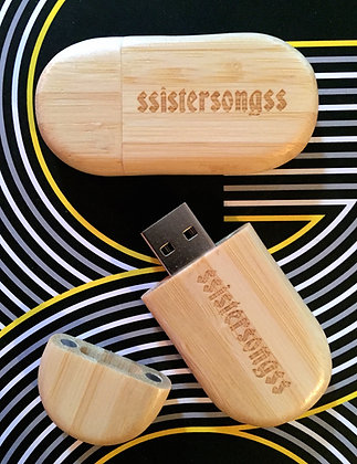 sSISTERs soundtrack - USB drive