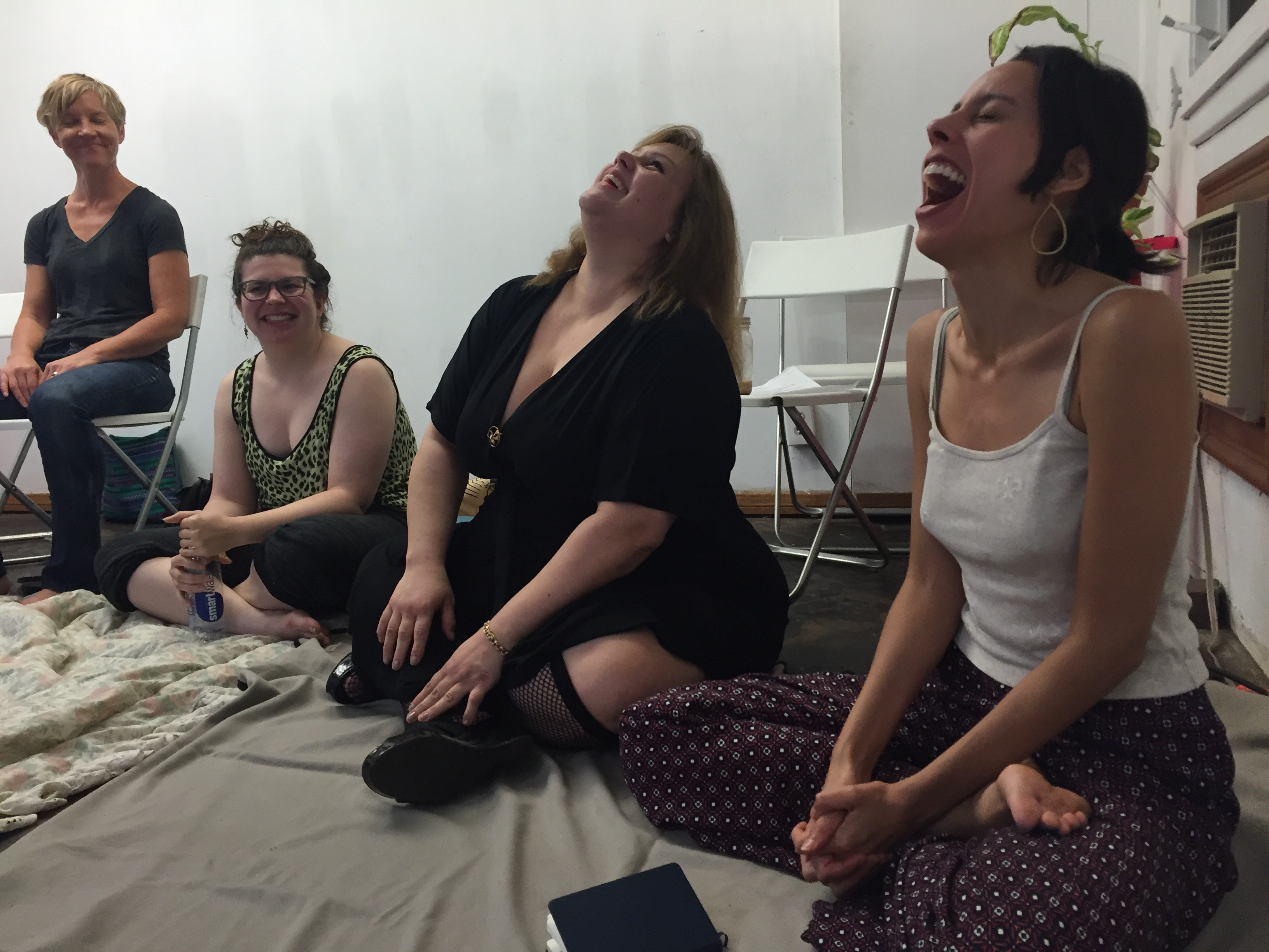Feminist Acting Class at the Women's Center for Creative Work