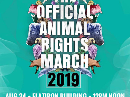 The Official Animal Rights March New York City 2019