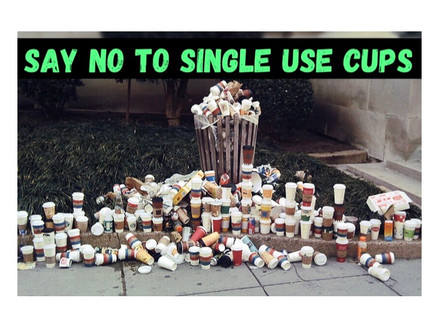 Say No to Single Use Cups - 5 Solutions