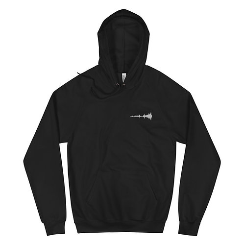 Isolation Embroidered 100% Cotton Hoodie
