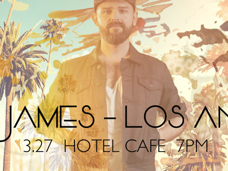 Los Angeles:Aiden James at The Hotel Cafe 3.27.17