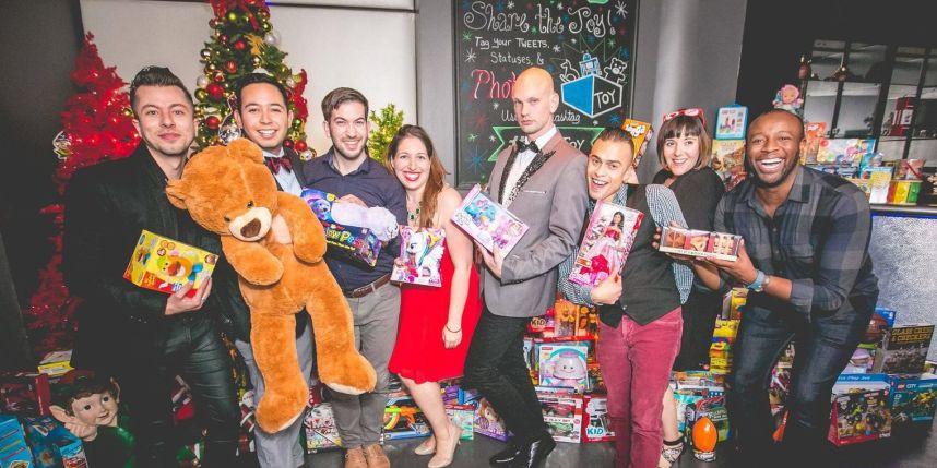 Toy Philadelphia DVLF Holiday Charity