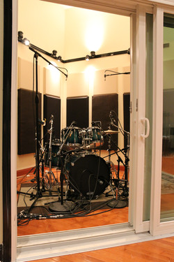 drums iso booth
