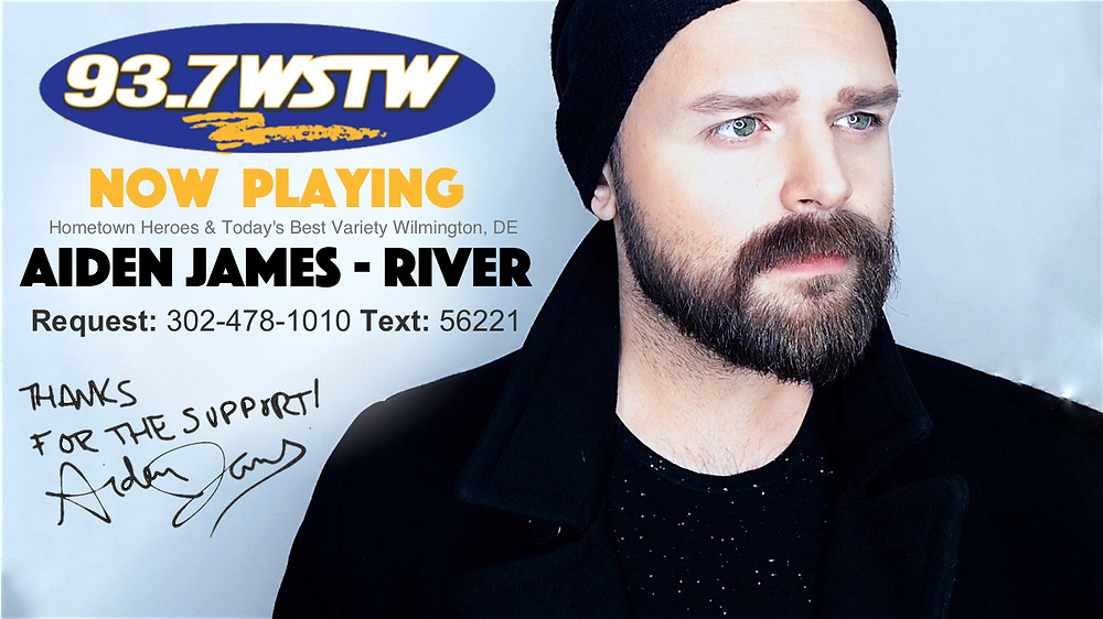 Aiden James 93.7 WSTW Radio