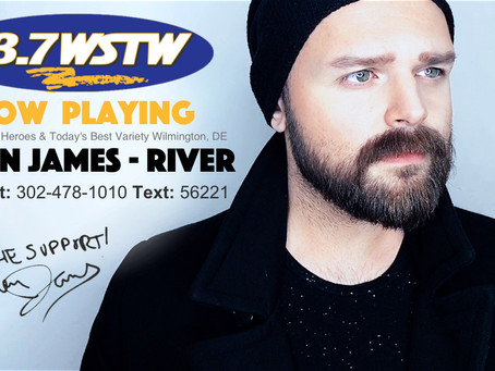 """Listen: Aiden James 93.7 WSTW Premiers """"River"""""""