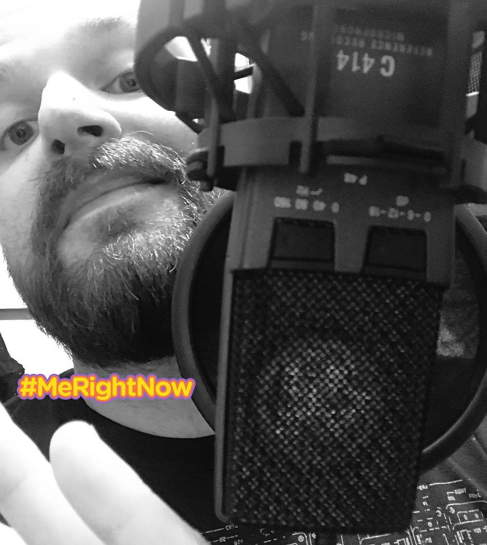 Aiden James in Studio - Vocal - AKG C414XLS