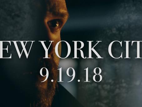 Sept 19th Live at Rockwood Music Hall New York City