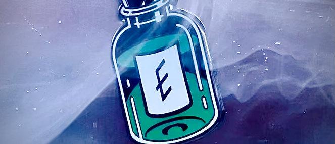 Elixir Enamel Pin