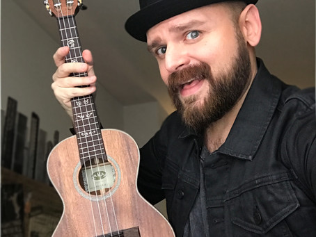 Philly Music Store Sponsors me with Ukulele!