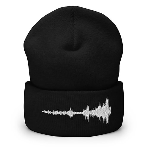 Isolation Embroidered Cuffed Beanie