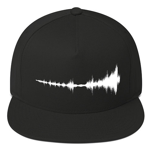 Embroidered Isolation Flat Bill Hat